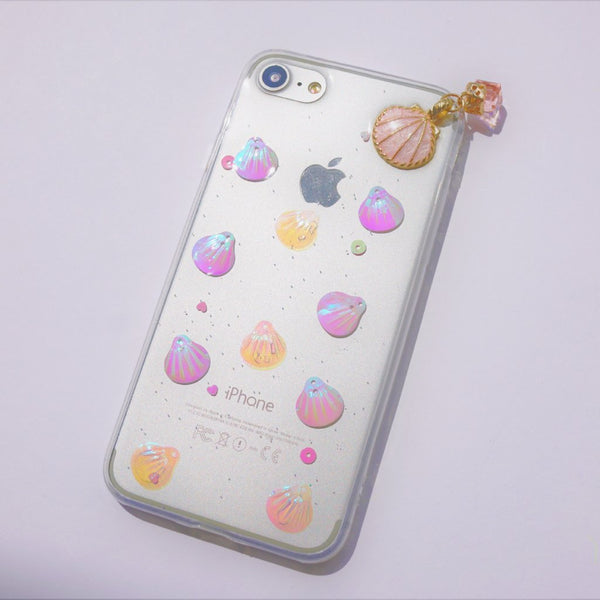 3D iPhone Case - Holographic Shells - Case&Co.