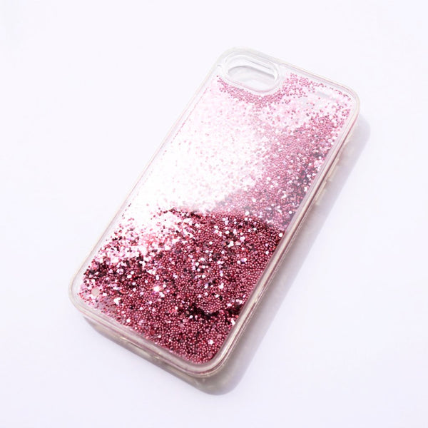 Glittery iPhone Case Pink Dust - Case&Co.