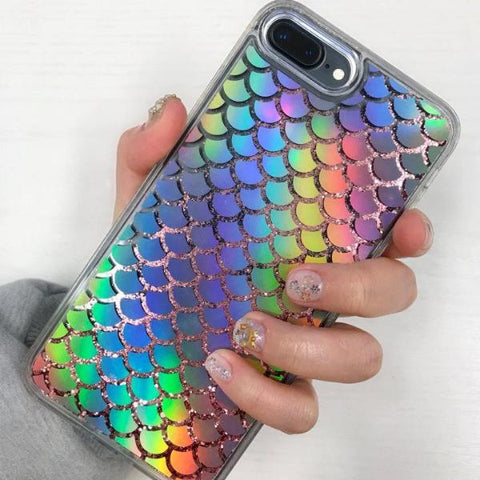 Holographic iPhone Case Mermaid - Case&Co.