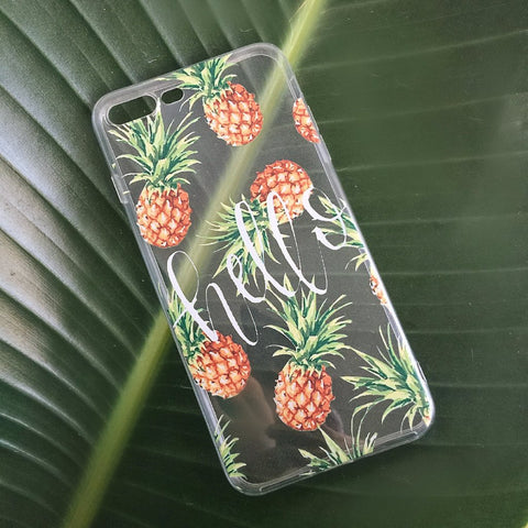 Pineapple iPhone Case - Hello - Case&Co.