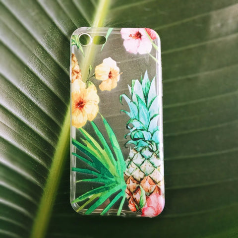 Pineapple iPhone Case Tropical - Case&Co.