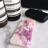 Marble iPhone Case - Purple Pink - Case&Co.