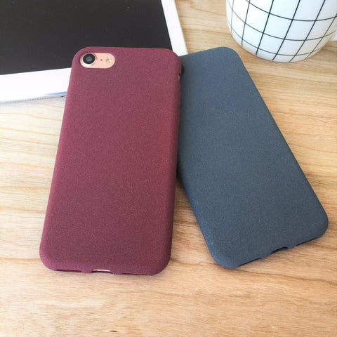 Slim iPhone Case - Red - Case&Co.