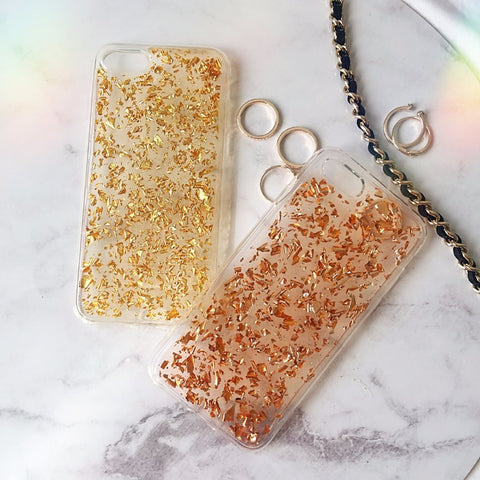 Rose Gold Flake iPhone Case - Case&Co.