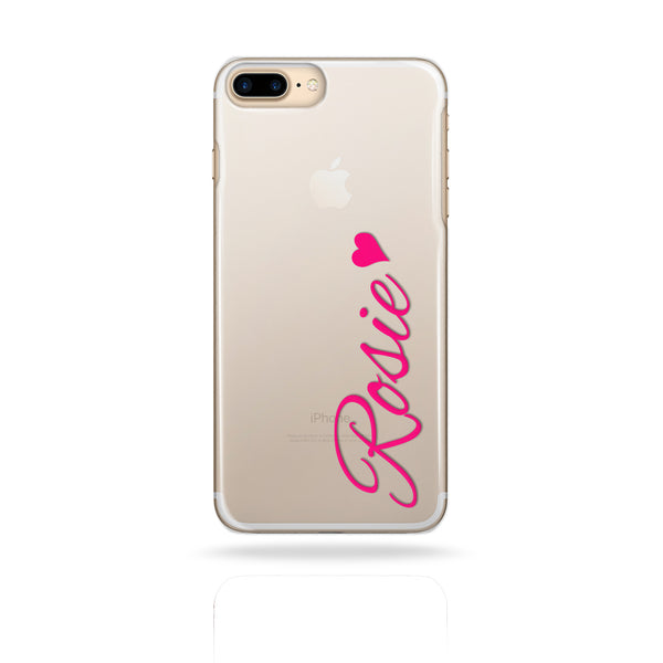 Personalised Pink Name Monogram Initials Phone Case - Case&Co.
