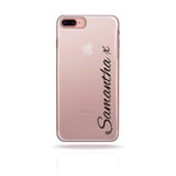 Personalised Phone Case Custom Handwritten Black - Case&Co.