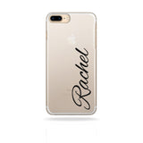 Personalised Custom Phone Case Name Black - Case&Co.