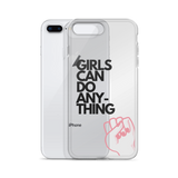 Girls Can Do Anything iPhone Cases & Covers Black - Case&Co.