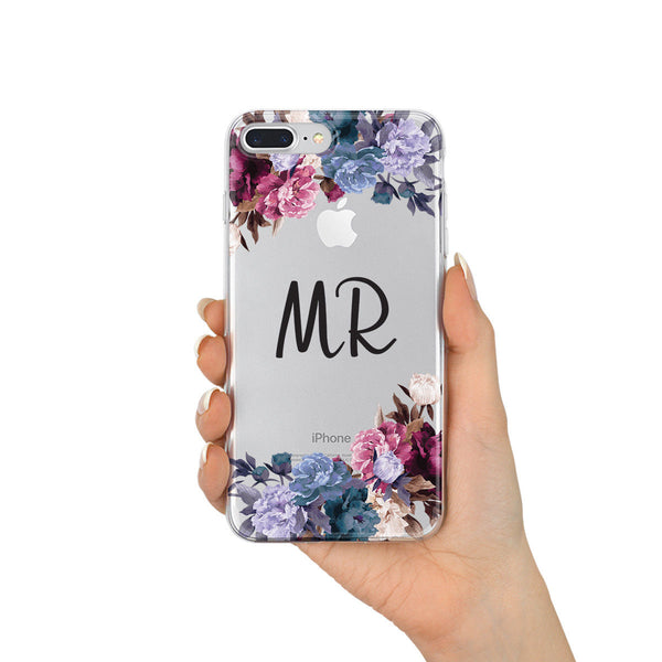 Initial Phone Case Floral - Case&Co.