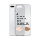 Nevertheless She Persisted iPhone Case - Case&Co.