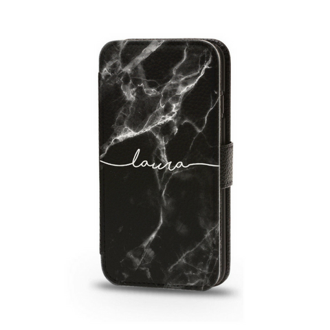 Personalised Flip Phone Case Black - Case&Co.