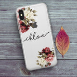 Personalised Phone Case Floral - Case&Co.