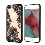 Lace iPhone Case - Black Floral - Case&Co.