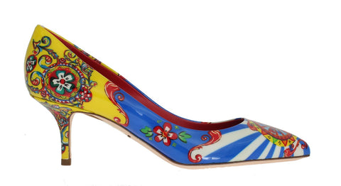 Multicolor Carretto Patent Leather Pumps - Vivi's Posh Closet