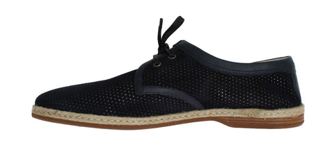 Blue Goat Leather Breathing Casual Shoes - Vivi's Posh Closet