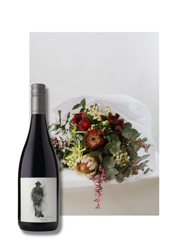 Flowers and Wine Gift