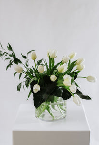 White Fresh Cut flowers 'En Masse'