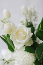 White Seasonal Posy