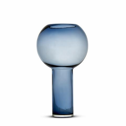 Luxor Glass Vase Indigo Blue