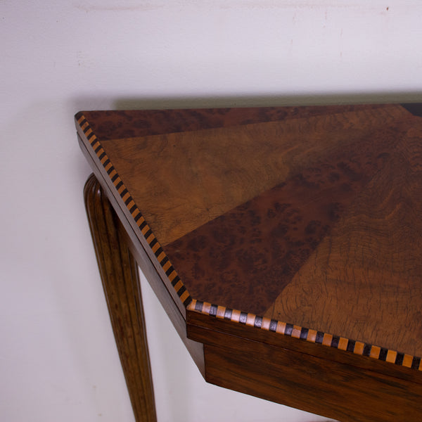 Italian Art Deco fold over games table