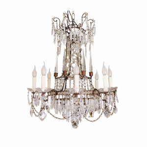 Early 20th century French Empire Style Chandelier