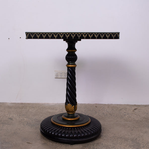 A Victorian Painted Side Table