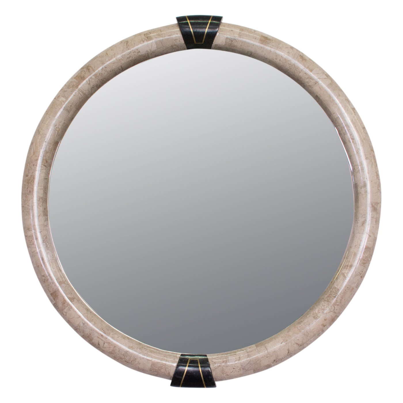 Art Deco Style Tessalated Stone Mirror