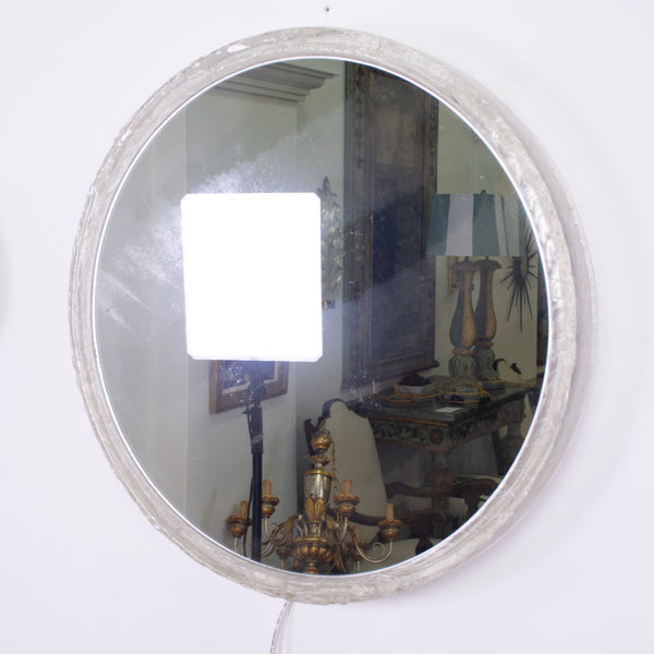 Vintage German Lucite Lighted Mirror