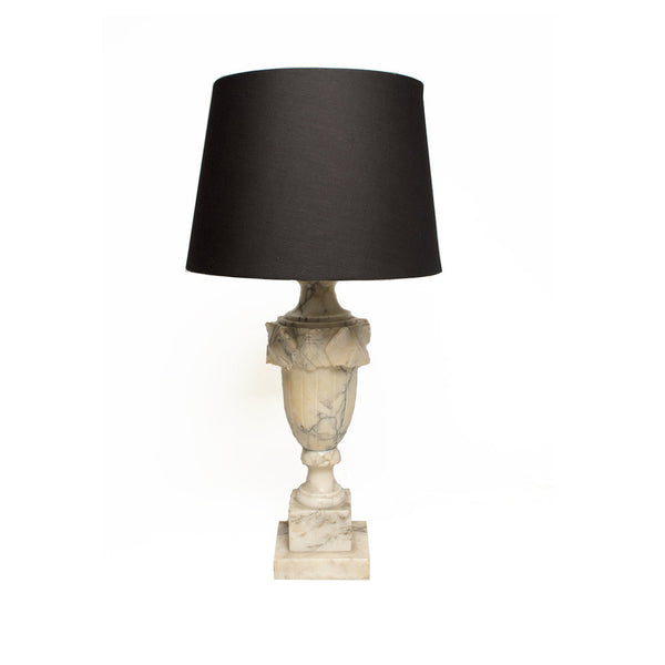 Vintage Neo-Classic Italian Marble Table Lamp