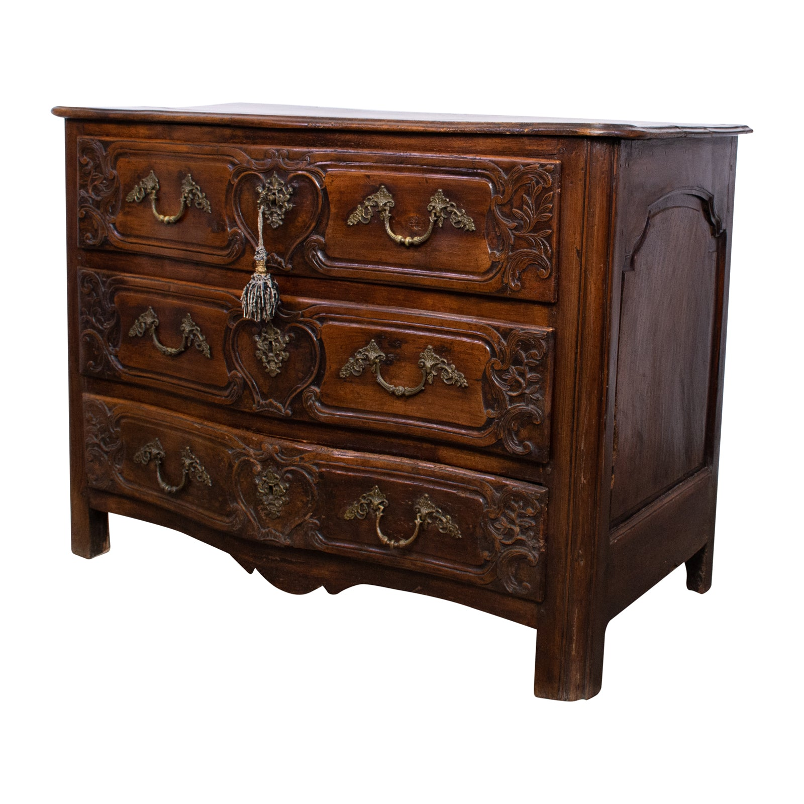 Louis XV Period Provincial Walnut Commode