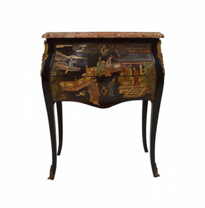 Antique Louis XV style Coromandel Lacquer Commode