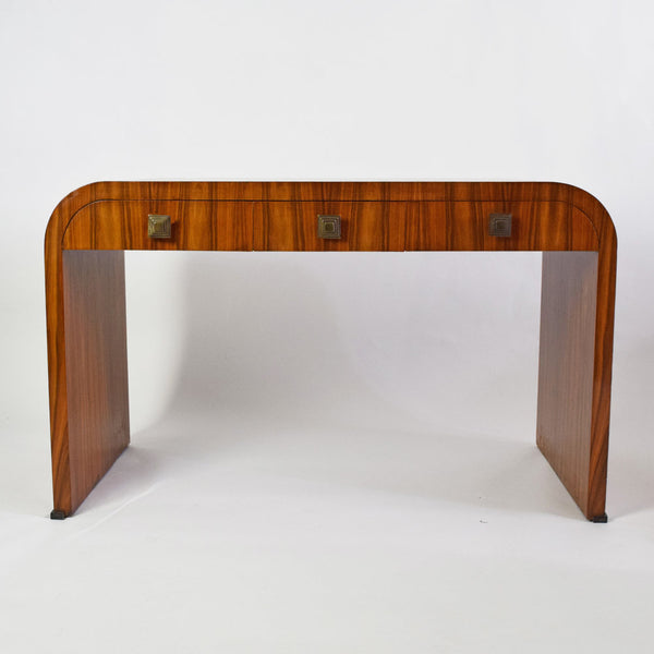French walnut Art Deco Console