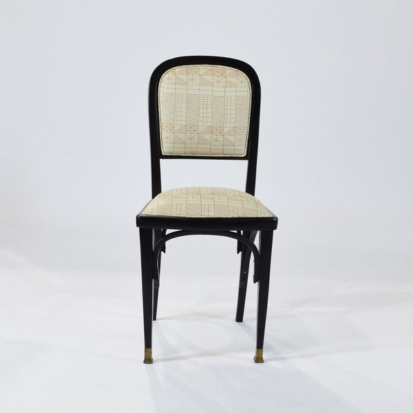 Vienna Secession side chairs by Gustav Siegel