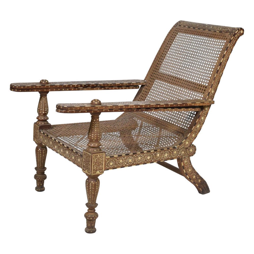 Antique Anglo Indian Plantation Chair - Antique Anglo Indian Plantation Chair – The Vault Sydney