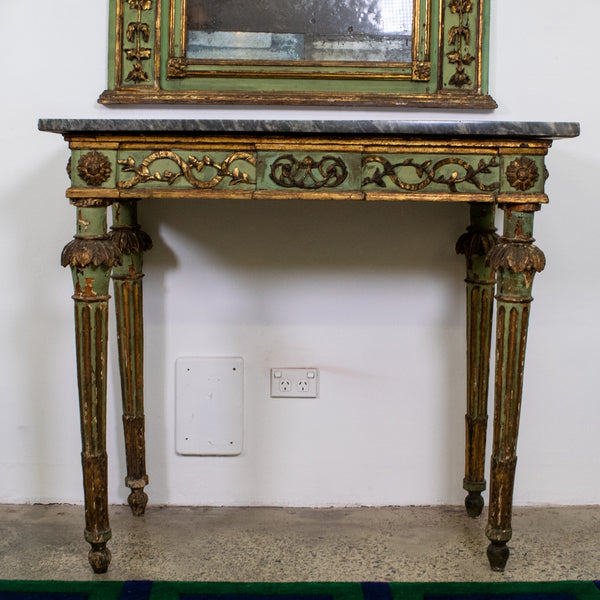 Italian Louis XIV  Marble Console