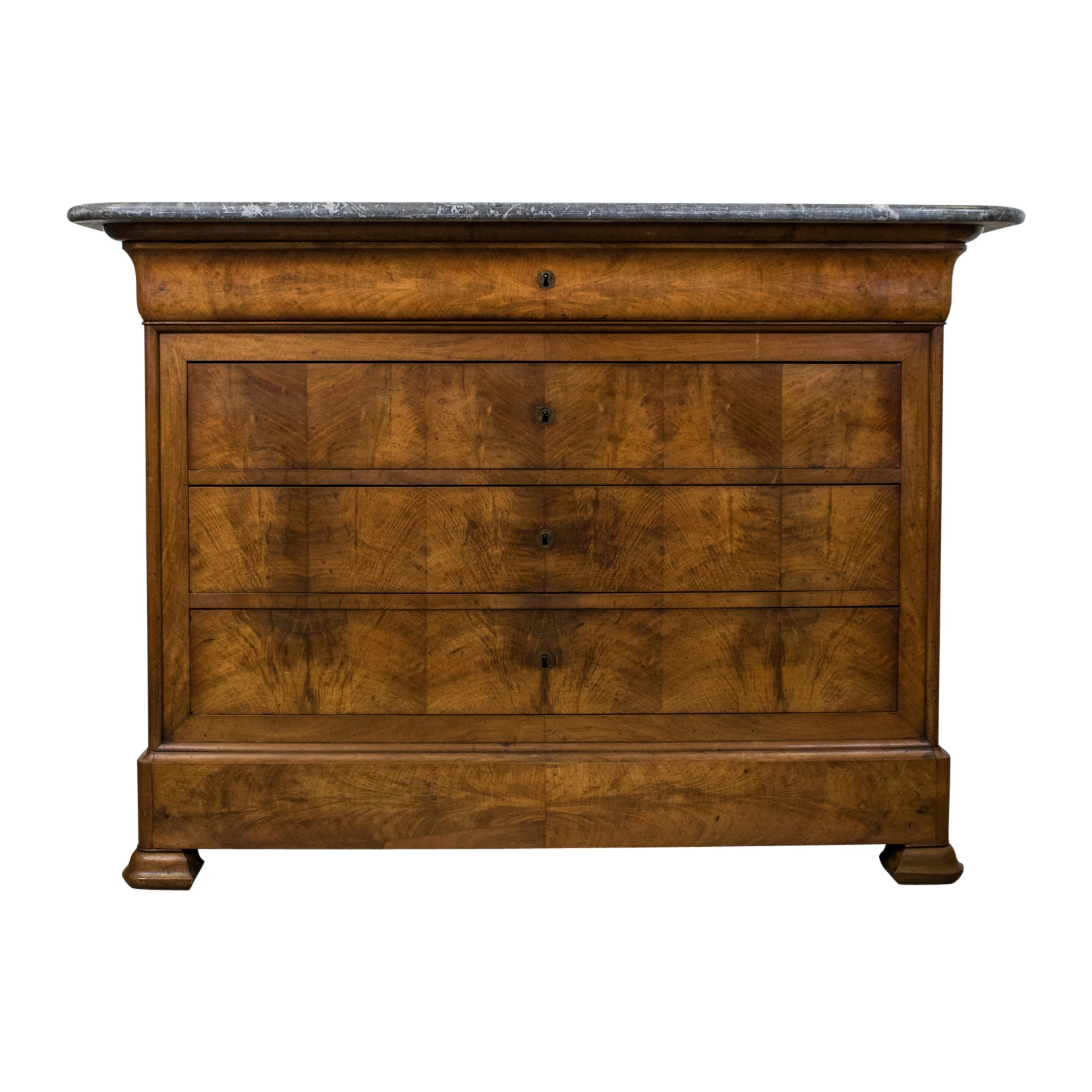 Louis Philippe Period Walnut Commode