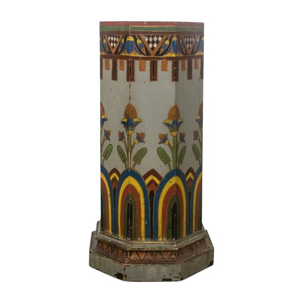 An Arts and Crafts Octagonal Pedestal