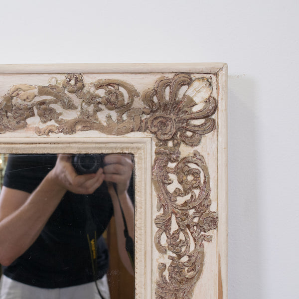 An Antique French Empire Overmantel Mirror