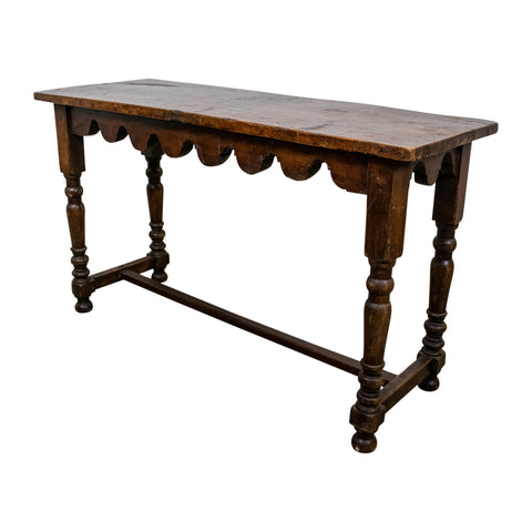 19th Century French Oak Console Table