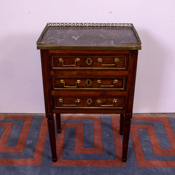 Louis XVI style  Petit Mahogany Commode