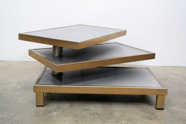 Articulated coffee table Attributed to Maria Pergay