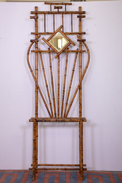 19th Century Aesthetic Movement Bamboo Coat Stand