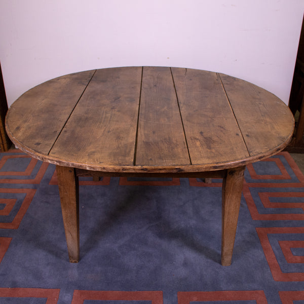 19th Century French Provincial Fruitwood Oval table