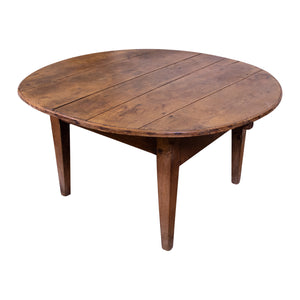 19th Century Fruitwood Circular Table