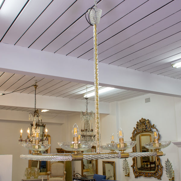 1960s Barovier and Toso Chandelier