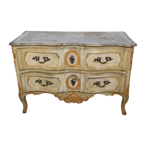 Louis XV Period Painted Commode