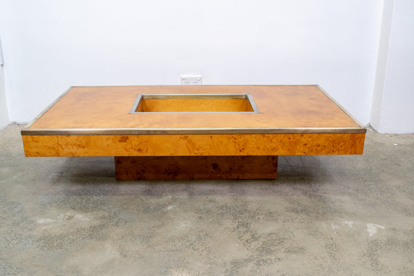 Bur Elm Willy Rizo Style Coffee Table