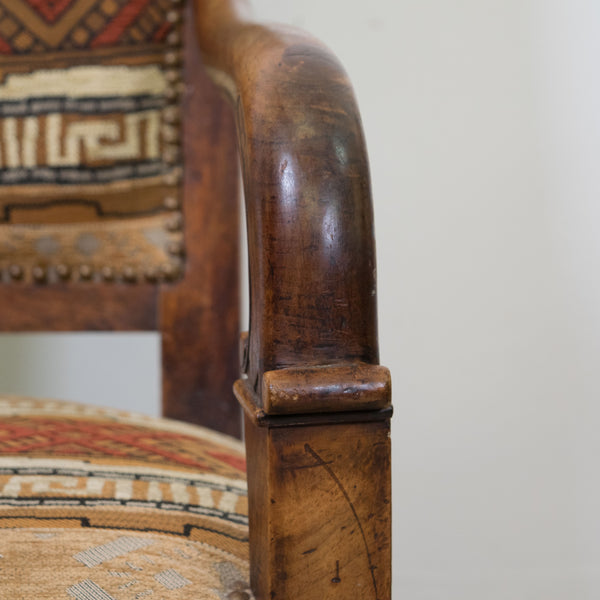 Empire Armchairs close up