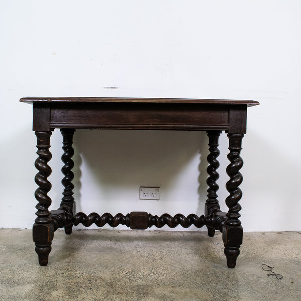 A 19th Century Louis XIII Style Oak Side Table