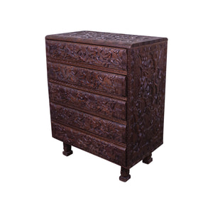 Unusual African Chest of Drawers